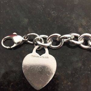 Tiffany and CO. Tiffany Hearts Charm Bracelet